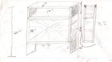 Headboard Sketch